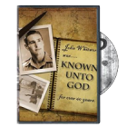 Buy DVD - Known Unto God